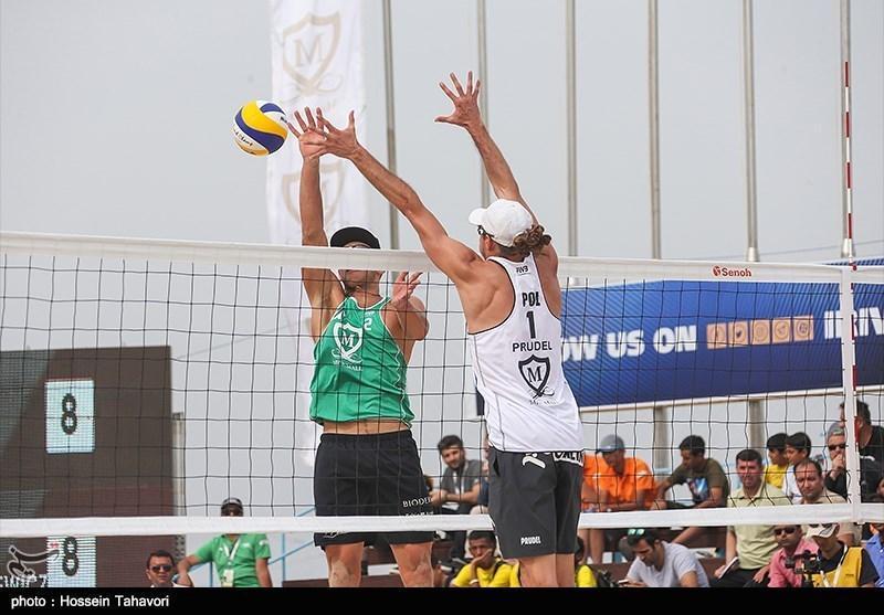 والیبال ساحلی تور جهانی، پیروزی 3 نماینده ایران در جدول اصلی