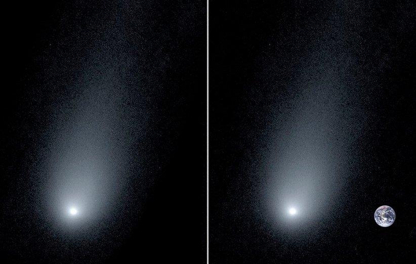 تصویری جدید از دنباله دار میان ستاره ای بوریسوف