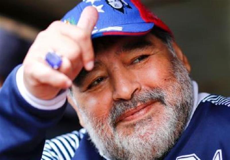 احتمال مربیگری مارادونا در فوتبال اسپانیا