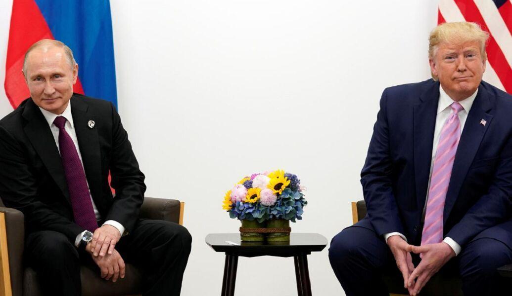 ترامپ و پوتین در ژاپن دیدار کردند