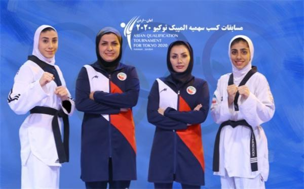 برای حضور در انتخابی المپیک؛ دختران تکواندوکار ایران راهی اردن می شوند