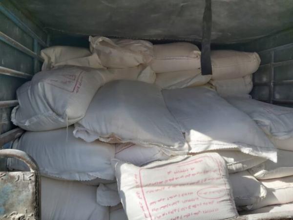 کشف 2 تن آرد قاچاق در گچساران