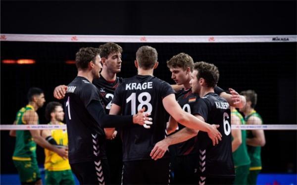 لیگ ملت های والیبال؛ آلمان طلسم 15 ساله را شکست