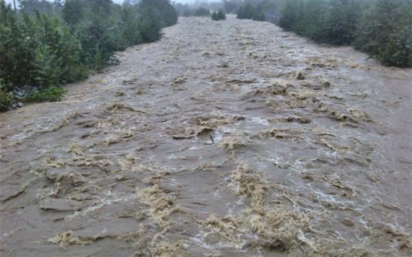 آب در رودخانه سراب قوچان دوباره جاری شد