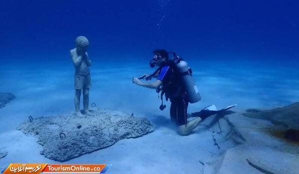 افتتاح یک موزه زیردریایی در قبرس