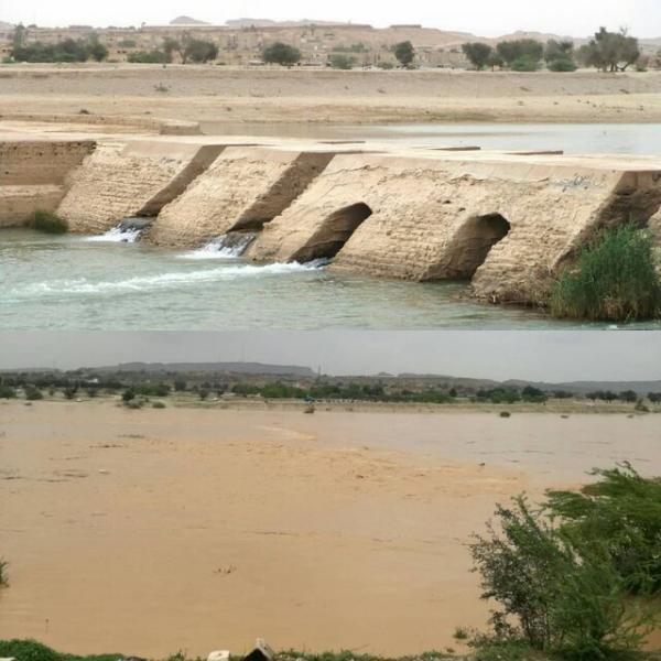 شرایط سازه های آبی تاریخی خوزستان