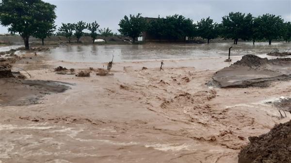سیلاب و مشکلاتی که گویا در روستا های سرخه تمامی ندارد