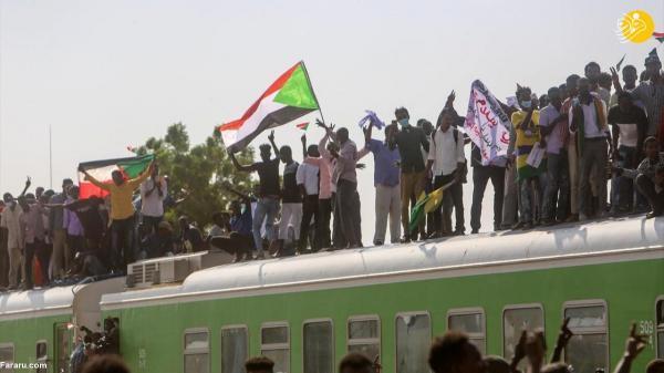 تظاهراتِ قطاری!